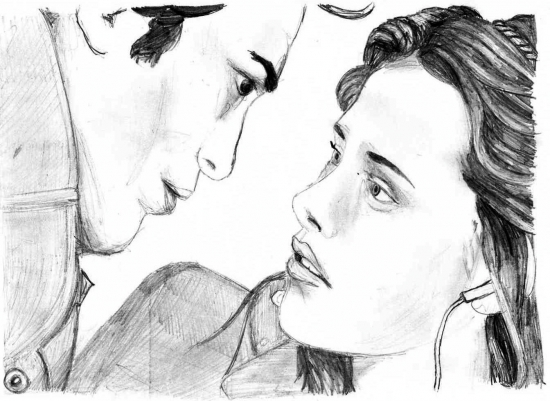Kristen Stewart, Robert Pattinson by elysabeth-x